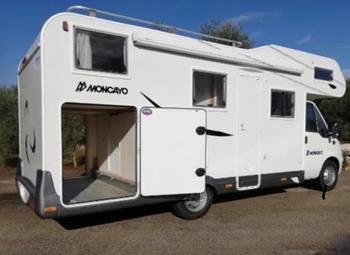 Camper 6 posti , porta moto e grande garage