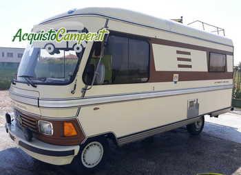Hymer Hymermobile 545 Anno 1981 Solo 90000 Km Camper  Motorhome Usato