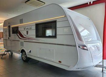 Tabbert Caravan Vivaldi 560 Emk 2.5 Caravan Nuova Famigliare Top!! Camper  Roulotte Nuovo