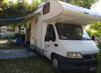 Camper mansardato Mc Louis tandy 620 plus