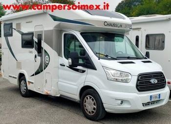 Chausson Korus 634 Camper  Parzialmente Integrato Usato