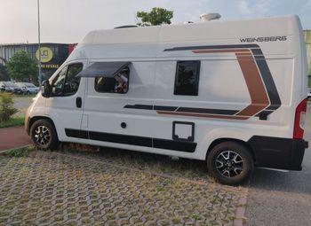 Weinsberg Carabus 600 Dq -1 Edition Italia Furgonato Camper  Puro Nuovo