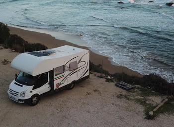 Camper full optional 49'000 km 2008 pannelli solari aria condizionata  e doppia batteria