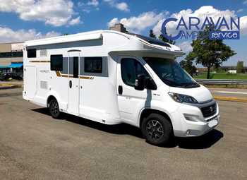 Foto Caravans International Horon 98xt Camper  Parzialmente Integrato Usato