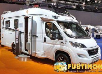 Foto Weinsberg Carasuite 650 Mg  2021 Ed.italia Semint.garage 5 P Camper  Parzialmente Integrato Usato
