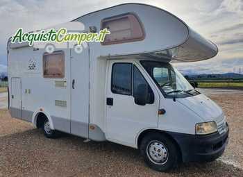 Knaus Sport Traveller 605 Dkg Camper  Mansardato Usato