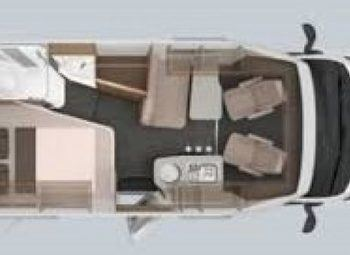Knaus Van Ti  550 Mf -vansation-  Semint. Ultra Compatto Camper  Parzialmente Integrato Nuovo - foto 2