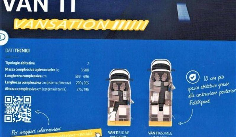 Knaus Van Ti  550 Mf -vansation-  Semint. Ultra Compatto Camper  Parzialmente Integrato Nuovo - foto 29
