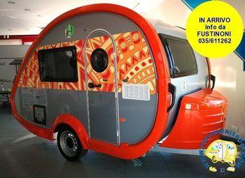 Foto Tabbert Caravan T@b 320 Rs  Mini Caravan 2022-2 Posti 750 Kg Camper  Roulotte Nuovo
