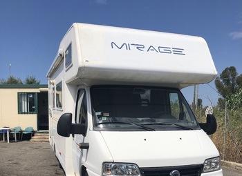 Camper mansardato 7 posti Mirage 5 Stelle