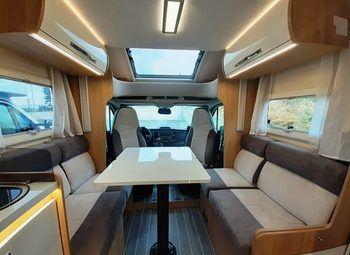 Caravans International Ci Horon 67xt Cambio Automatico, Letto Nautico Camper  Parzialmente Integrato Nuovo - foto 1