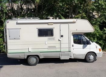Camper Mansardato Riviera Ford 2.5 TD