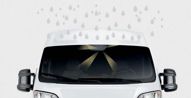 Sensore pioggia e crepuscolare