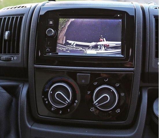 Camera retromarcia e relativo monitor
